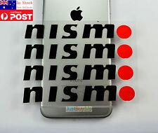 Nismo Black White Vinyl Car Truck Door Handle Protector Sticker Decal for Nissan