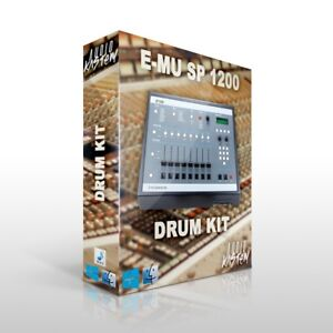 E-MU SP 1200 Drum Kit Samples MPC Maschine Sounds DOWNLOAD Trap Hip Hop WAV