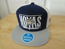 Georgetown Hoyas Snapback Cap Hat Adidas NCAA Flat Bill NEW Sticker/Insert
