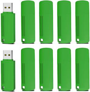 KOOTION 10 Pack 4GB USB Stick USB 2.0 Flash Drive Memory Stick Data Storage Fast