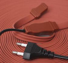1,2,3,5,10,20,30m Silicone Cable chauffant tuyau de degivrage Heating Cable