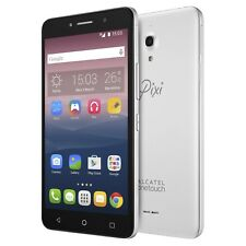NEW Alcatel Pixi 4 (6) LTE Dual SIM Unlocked 5098S Smartphone SILVER 16GB Droid