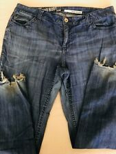 DKNY SOHO BOOT CUT PLUS SIZE WOMENS JEANS SIZE 20 W
