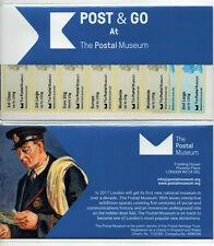 BPMA POSTAL MUSEUM MACHIN STRIPS PRESENTATION PACK TYPE 4  Post Go APRIL 2016