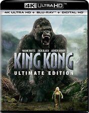 KING KONG : ULTIMATE EDITION (Jack Black) (4K ULTRA HD) - Blu Ray -  Region free