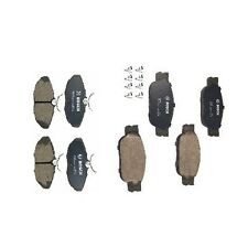 For Lincoln LS 2000-2005 Rear & Front Disc Brake Pad Set KIT Bosch QuietCast