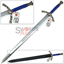 French Knightly Hand-and-a-Half Longsword European Sword Replica Stainless