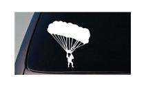 "PARACHUTE STICKER paratrooper Decal Sticker Skydiving 6"" *D668*"