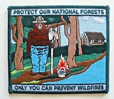 """Smokey Bear Patch, """"Protect Our National Forests""""  Officially Licensed"""