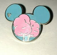 Cotton Candy Food Series 2015 Hidden Mickey Mouse Icon DLR Disney Pin 108535