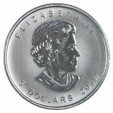 Better Date - 2014 Canada $5.00 - 1 Oz. Silver Peregrine Falcon - SILVER *880