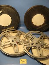 16 mm  Film 2 Stück 300 Meter Filmspulen Metallspulen in Filmblechdosen.C.78