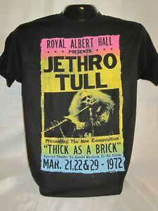 Jethro Tull T-Shirt Tee Ian Anderson British Rock Band Music Albert Hall New 11