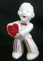 Valentine's Day Boy Rosbro Rosen Vintage Candy Container Be Mine