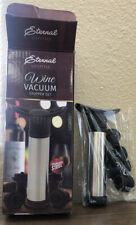New Sealed Stainless Steal Wine Vacuum Stopper Set