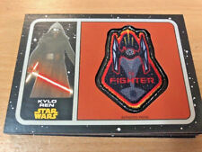 Star Wars Journey To The Force Awakens - Patch Card P-11  - Kylo Ren - NM