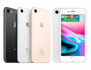 Apple Iphone 8 256GB libre+nuevo+garantia+factura+8 accesorios