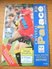 01/03/1995 Crystal Palace v Watford [FA Cup Replay] (Team Changes). No obvious f