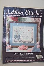 Loving Stitches  #00265 Don't Eat The Soap - Complete Counted Cross Stitch Kit