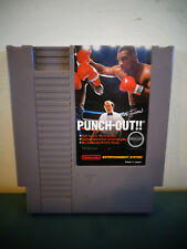 NINTENDO NES MIKE TYSON'S PUNCH OUT CLEANED & TESTED