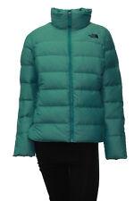 Women's The North Face Nuptse Down Jacket Medium Harbor Blue Heather Insulated