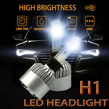 Pair H1 980W 147000LM Car LED Headlight Bulbs Conversion kit 6000K Fog Light
