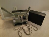 Viewlex Portable 16mm Film Projector Model 1600 - M43 Nice Working Condition
