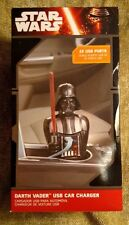 Disney Star Wars Darth Vader USB Cell Phone Car Charger w/ 2 USB Ports