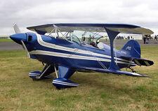 Pitts Special s-2a (1396 mm). arte avión. plano de edificio, traplet Publications Ltd