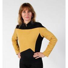 STAR TREK TNG Uniformen - gold -  Baumwolle -unisex -  S