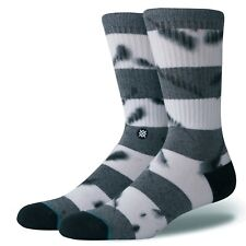 NEW STANCE SOCKS EMMER M556A18EMM BLK | BLACK | Mens Size Large 9-12