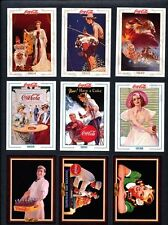 Coca Cola Promotional Cards for Series 1, 2, 3, 4 -Total 12 Cards -1993-1995 NEW