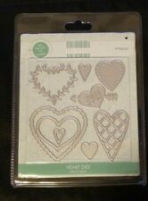 """Trimcraft First Edition Crafts """"Heart Dies"""" FEDIE075 Metal Cutting Die"""