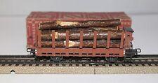 MÄRKLIN MARKLIN H0 : 321 G vagone con legname ottimo in or. box 800 : anno 1950+