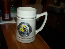 "Green Bay Packers Fine Pewter Emblem ""1996 NFL Champions"" Mug Beer Stein LOOK!"