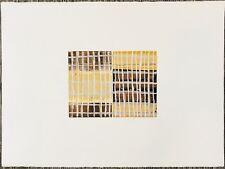 Original Betty Merkin Monotype Threads Two - Brown, Gold & Silver