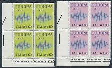 1972 ITALIA EUROPA QUARTINA MNH ** - ED-2