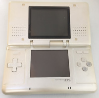 Nintendo DS Original NTR-001 Console w/ Charger - White - Tested Works