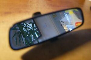 FORD  FIESTA BLACK DIPPING REAR VIEW MIRROR  E9 014276  2005 - 2009