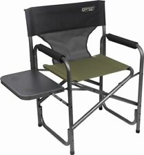 Quest Deluxe Surrey Directors Chair With Folding Table in Green X 4