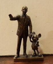 Disney 2001 WDCC WDAC Partners Walt and Mickey LE 700 Miniature
