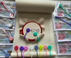 Magnetic Fabric clips - Cross stitch, Embroidery & Sewing Accessories