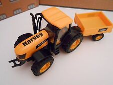 PERSONALISED ANY NAME TOY JCB FASTRAC TRACTOR  GIRL BOY BIRTHDAY GIFT BOX NEW