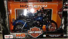 Harley Davidson 2004 DYNA Super Glide Sport Motorcycle Diecast 1:12 Maisto 5inch