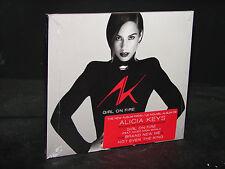 Girl on Fire [Digipak] by Alicia Keys (CD, Nov-2012, RCA)  ***NEW SEALED***