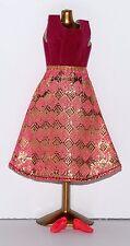 Fits Topper Dawn, Pippa, Triki Miki Doll Diamond Print Clone Fashion - Lot #199