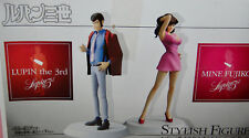 NEW Banpresto Lupin the Third STYLISH FIGURE SERIES #1 COMPLETE 2 pc.set