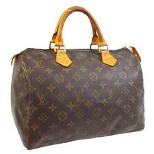 LOUIS VUITTON SPEEDY 30 HAND BAG PURSE MONOGRAM CANVAS M41526 TH0061 30893