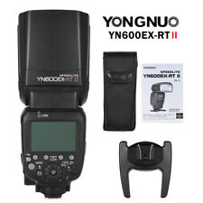 Yongnuo YN600EX-RT II E-TTL HSS Wireless Master Flash Speedlite for Canon EOS