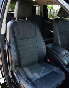 seat covers TOYOTA HIGHLANDER (2014+) premium leather interior